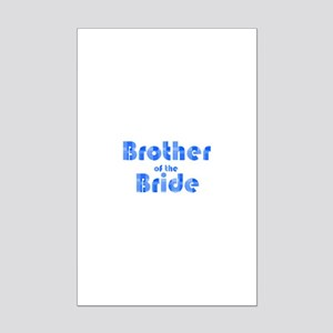 Brother Of The Bride - Retro Mini Poster Print