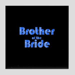 Brother Of The Bride - Retro Tile Coaster
