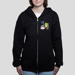 Tree Bowling Frog Sweatshirt