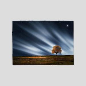 Harvest Moonbeams and Star Shine 5'x7'Area Rug