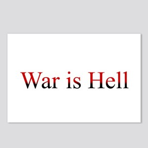 War is Hell Postcards (Package of 8)