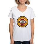 GENUINE HOT ROD Women's V-Neck T-Shirt