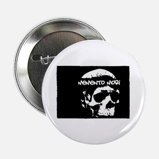 "Funny Memento mori 2.25"" Button"