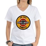 CUSTOM PARTS Women's V-Neck T-Shirt