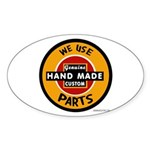 CUSTOM PARTS Oval Sticker