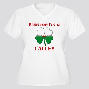 Talley Family Women's Plus Size V-Neck T-Shirt