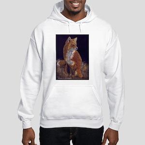 Red Fox Hooded Sweatshirt