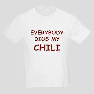 Everybody Digs My CHILI Kids Light T-Shirt