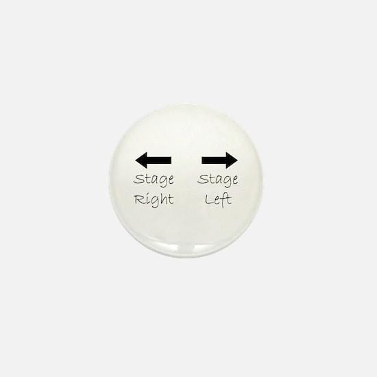 Cute Backstage Mini Button