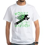 FASTEST WRENCH White T-Shirt