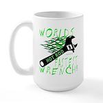 FASTEST WRENCH Large Mug