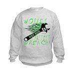 FASTEST WRENCH Kids Sweatshirt
