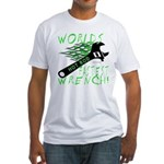 FASTEST WRENCH Fitted T-Shirt