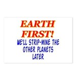 Earth First! We'll Strip-Min Postcards (Package o