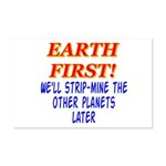 Earth First! We'll Strip-Min Mini Poster Print
