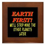 Earth First! We'll Strip-Min Framed Tile