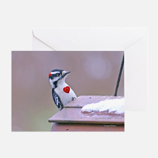 Beating Heart Woodpecker Greeting Card