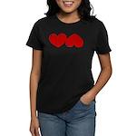 Heart Ass Women's Dark T-Shirt