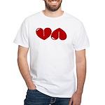 Heart Ass White T-Shirt