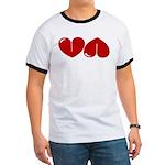 Heart Ass Ringer T