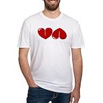 Heart Ass Fitted T-Shirt