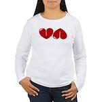 Heart Ass Women's Long Sleeve T-Shirt