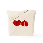 Heart Ass Tote Bag