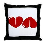 Heart Ass Throw Pillow