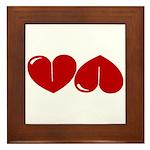 Heart Ass Framed Tile