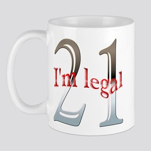 I'm Legal 21st Birthday Mug