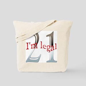 Im Legal 21st Birthday Tote Bag