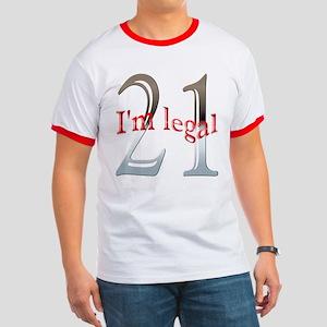 I'm Legal 21st Birthday Ringer T