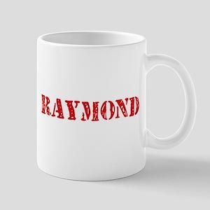 Raymond Retro Stencil Design Mugs