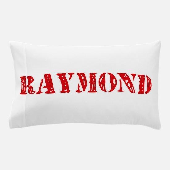 Raymond Retro Stencil Design Pillow Case