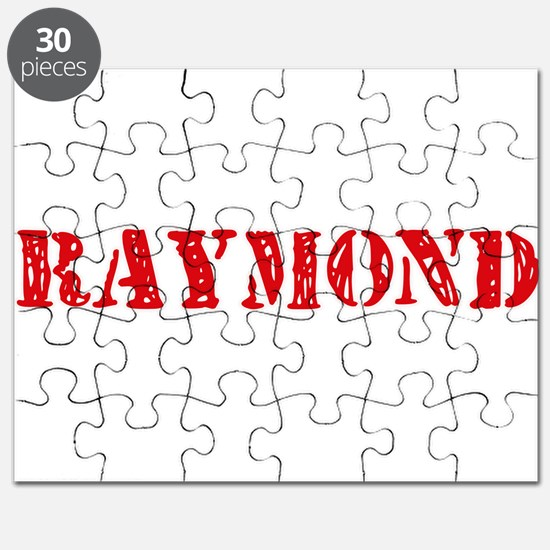 Raymond Retro Stencil Design Puzzle