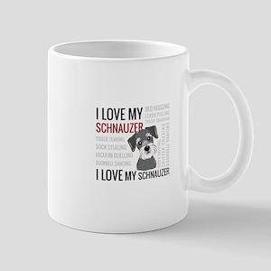 I love my schnauzer Mugs