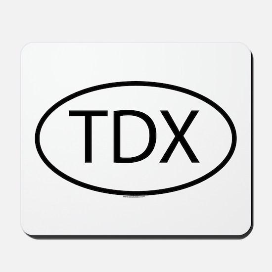 TDX Mousepad