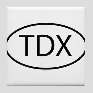 TDX Tile Coaster