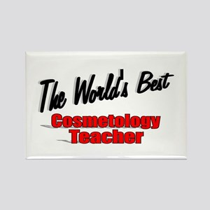 """The World's Best Cosmetology Teacher"" Rectangle M"