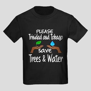 Please Trinidad and Tobago Save Kids Dark T-Shirt