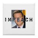 Impeach O'Malley Tile Coaster