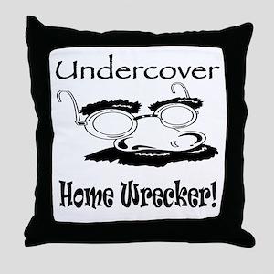 Undercover Home Wrecker Throw Pillow
