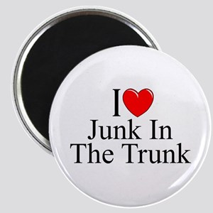 """""""I Love (Heart) Junk In The Trunk"""" Magnet"""
