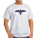 Celtic Raven Ash Grey T-Shirt