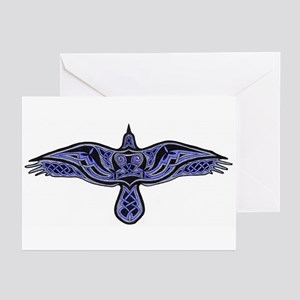 Celtic Raven Greeting Cards (Pk of 10)