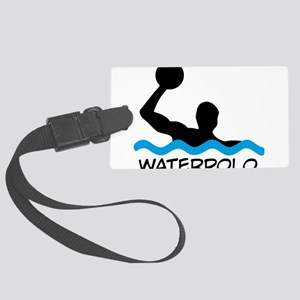 waterpolo Large Luggage Tag