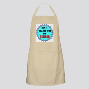 DON'T TELL MY WIFE BBQ Apron