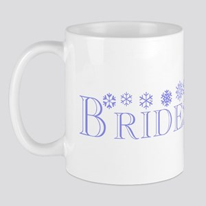 Bridesmaid - Snowflakes Mug
