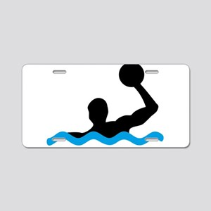 waterpolo Aluminum License Plate