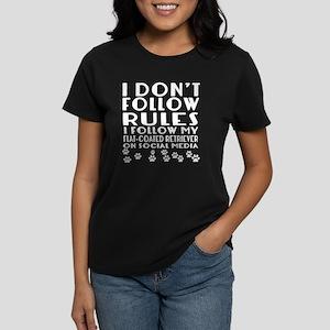 I Follow My Flat-Coated Re Women's Classic T-Shirt